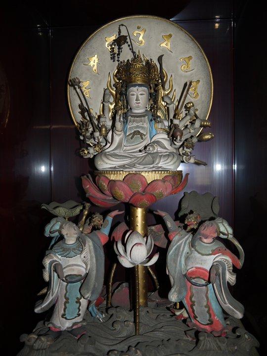 岐阜県中津川市に位置する曹洞宗 東圓寺 |准胝観世音菩薩